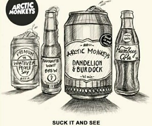 arctic monkeys, suck it and see, and alex turner image