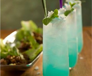bebida, cocktail, and comida image