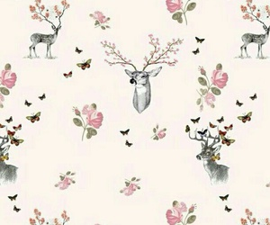 wallpaper, deer, and background image