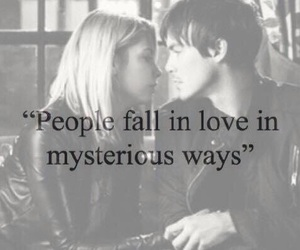 black and white, hanna, and true love image