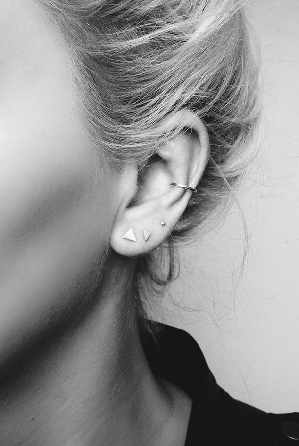 accessories, black, and earings image