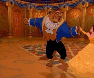 beauty and the beast, beast, and disney image