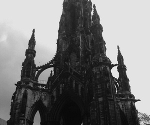 gothic, architecture, and black image