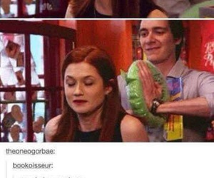 harry potter, funny, and bonnie wright image