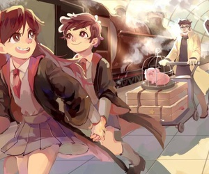 gravity falls and harry potter image