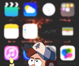 background, gravity falls, and dipper pines image