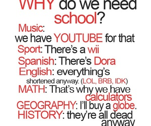 school, music, and sport image