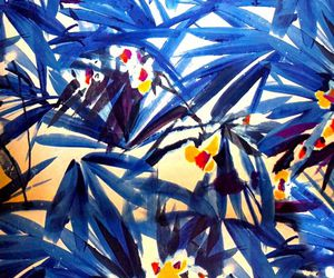 background, blue, and tropical image
