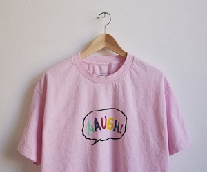 pink, words, and t-shirt image