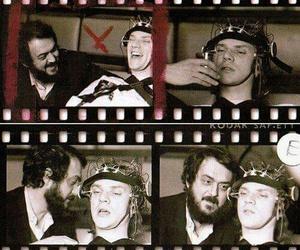 Stanley Kubrick, Malcolm McDowell, and clockwork orange image