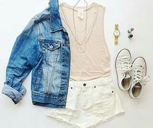 fashion, outfit, and summer image