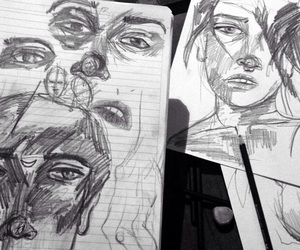 arte, draw, and drawing image