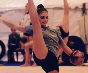 ball, training, and rhytmic gymnastic image