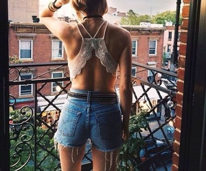 fashion, bralette, and summer image