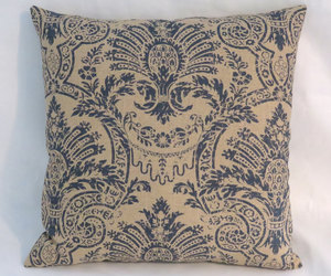 etsy, floral pillows, and 17 inch square image