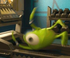 disney, funny, and monsters inc image