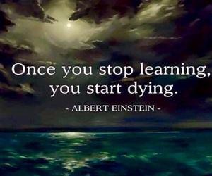 quote and Albert Einstein image