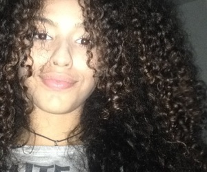 cabelo, curls, and curly hair image
