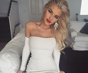 beauty, blue eyes, and jean watts image