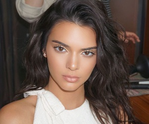 kendall jenner, model, and makeup image