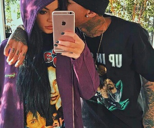 tyga, kylie jenner, and kylie image