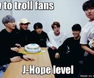 troll, bts, and bangtan boys image