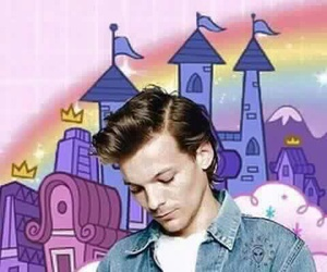 larry, louis tomlinson, and louis image