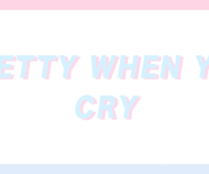 aesthetic, caps, and cry image