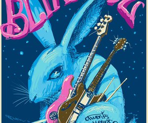 blink 182, blink, and blue image