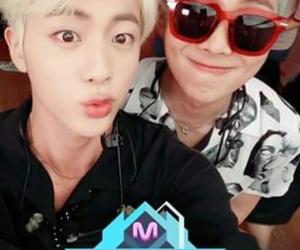 jin, rap monster, and kpop image