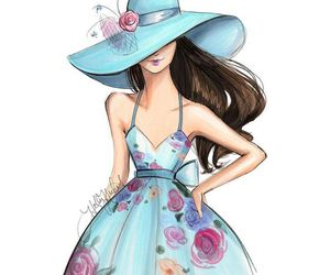 fashion and draw image