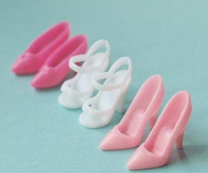 shoes, barbie, and pink image