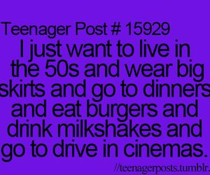 50s, teenager post, and quote image