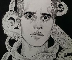 panic! at the disco and brandon urie image