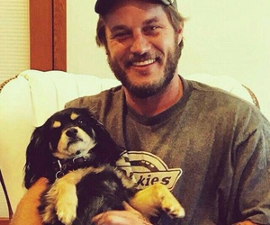 puppy, vikings, and travis fimmel image