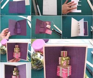 diy, card, and birthday image