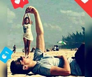 Algeria, beach, and love image