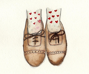 shoes, oxford, and art image