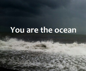 aesthetic, ocean, and quotes image