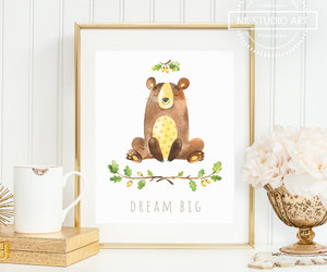 etsy, canvas art, and baby girl nursery image
