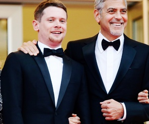 cannes, george clooney, and jack o'connell image