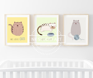 etsy, cute cats, and baby gifts image