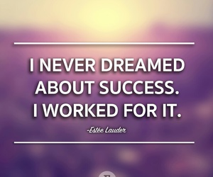 quotes, Dream, and success image