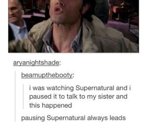 supernatural, funny, and jared padalecki image