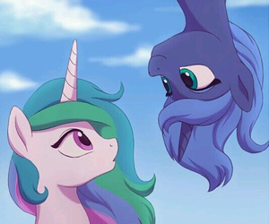 luna, MLP, and my little pony image