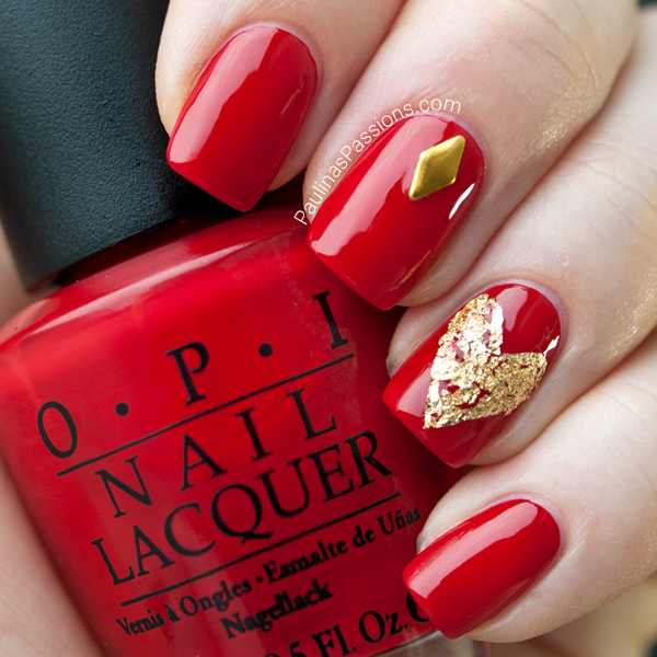 nails, red, and cool image