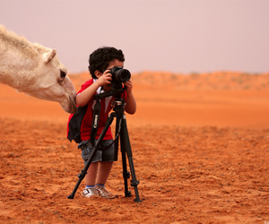 baby, boy, and camel image