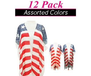 printed scarves, animal print scarves, and wholesale fashion scarves image