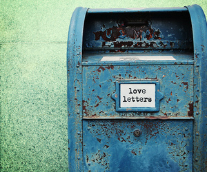 love, letters, and love letter image