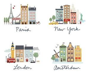 paris, london, and amsterdam image